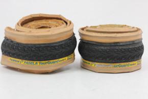 Panaracer Pasela Tourguard 700 x 23c Tires: Tan Skinwall - Kevlar Folding (1 NEW, 1 Take-Off)