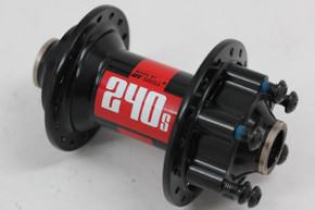 DT Swiss 240s Front Hub: 6-bolt Disc - 15mm x 100mm Thru Axle (MINT Almost New)