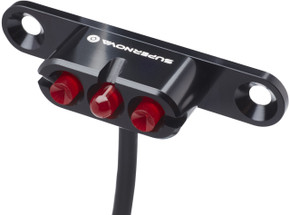 Supernova E3 2 Taillight: Rack / Bridge Mount - Black (NEW)