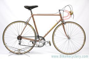 1976 Colnago Super: Fresh Pro Restoration Zero Miles - ORIGINAL - 56cm - Pantograph - FULL Nuovo Record - Rare Unica - - Brown/Yellow