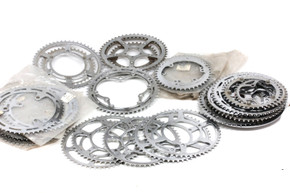 42pc Steel Chainring Lot: NOS/USED - 5 & 3 Pin - Williams - Nervar - Raleigh - Cyclo - Simplex...