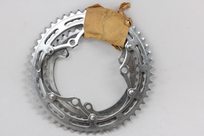NOS Triple 3-Pin Steel Chainring Set: 116mm Continental - 52t / 47t / 40t - Dome Bolts - - 5 Bolt Outer Ring