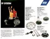 Shimano FF front freewheeling system catalog 1970s