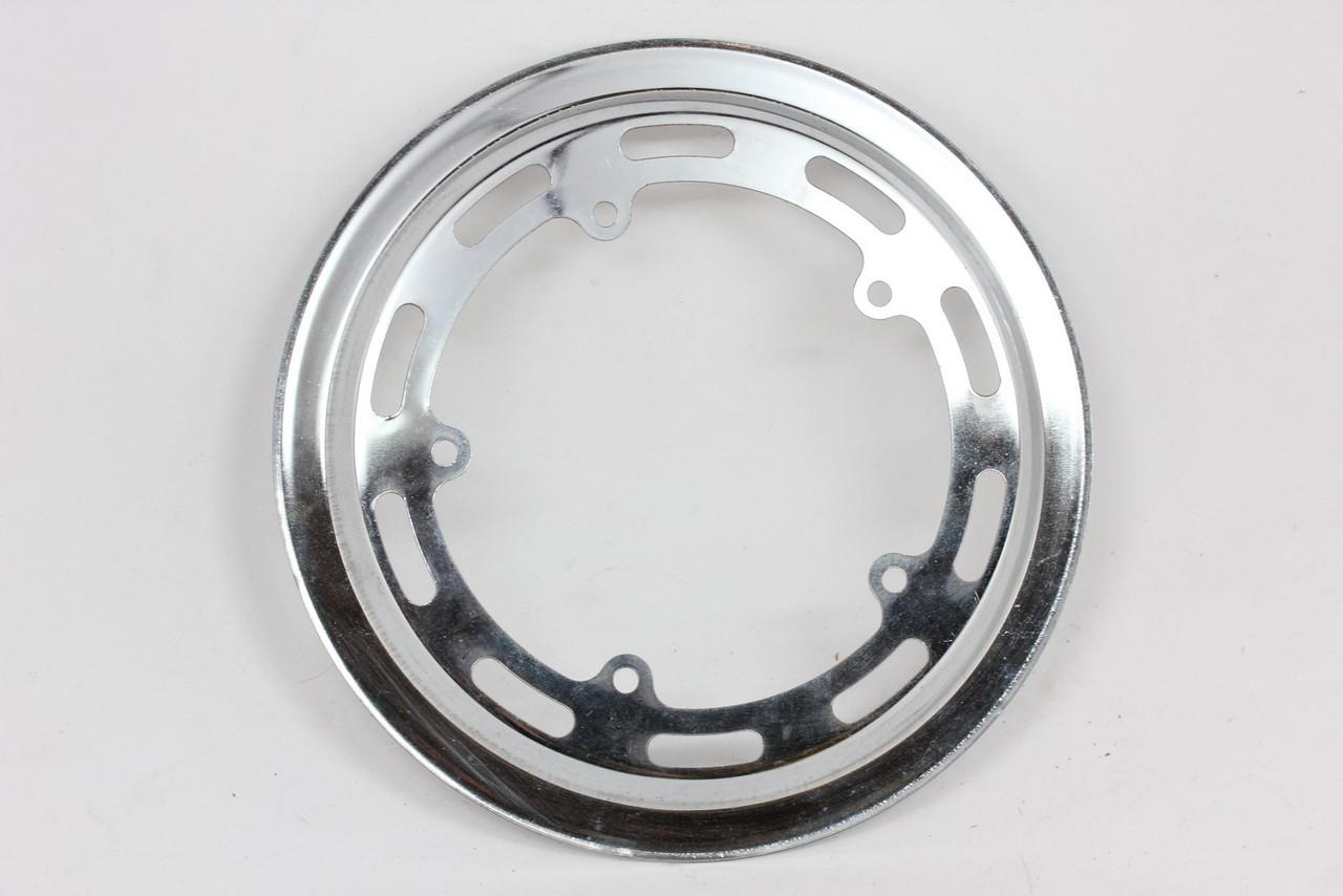 Vintage Nervar Chain Ring Guard Cottered Crank Chrome Steel Used
