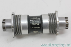 Shimano Dura Ace Octalink Bottom Bracket: BB-7700 - 109.5mm x 68mm (Near Mint)