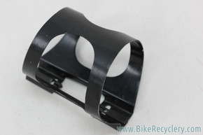 Ringle H2O Anodized Water Bottle Cage: 1990's - Black - No L Bracket (Near Mint)