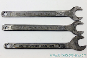 New Departure Axle Cone  (D-191) & Locknut (D-191) Wrench Set: 3 Piece -1940's / 1950's / 1960's