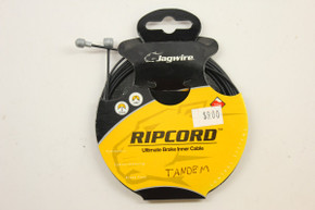 Jagwire Ripcord TANDEM Brake Cable: Mountain or Road - Teflon Coated