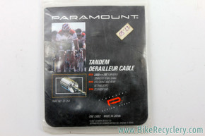 NIB/NOS Paramount Tandem Shift / Derailleur Cable:  Braided Stainless Steel