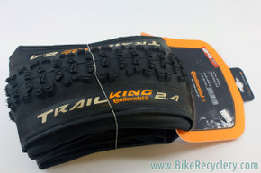 "Continental Trail King 29er MTB Tire: 29x2.4"" - Folding (NEW)"