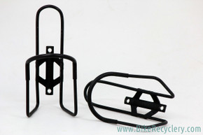 Jim Blackburn Water Bottle Cages: Vintage 1980's - Black (Near Mint, pair)