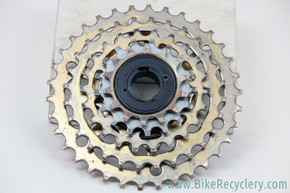 Suntour Pro Compe Custom-Built  5-Speed Freewheel: Wide Range - Half Step 14-34T - Touring/MTB (Near Mint)