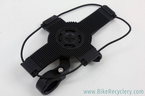 Bikase Phone Mount for Handlebars: Bungees Fits all Size Phones (NEW)