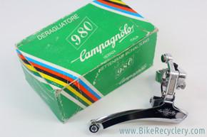 NOS/NIB Vintage Campagnolo 980 Front Derailleur: 28.6mm Clamp