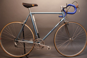 Early 1980's Motobecane Jubilee Sport Vintage Road Bike: 58cm Nuovo / Super Record, TA Crank, Mavic
