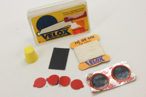 Vintage Velox Tubular Repair Kit: 1980's