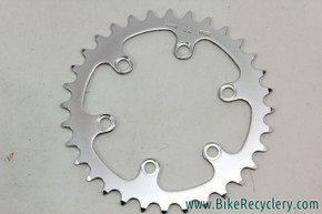 NOS/NIB Vintage Specialties TA Cyclotouriste Pro Vis 5 Inner Chainring: 32t - REF 208c