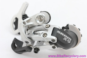 SRAM X9 Rear Derailleur: 9 Speed - Long Cage - Silver (NEW)