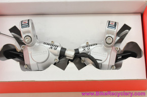 SRAM X9 Trigger Shifters: 9 Speed - Silver (Pair, NEW)