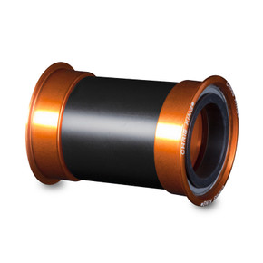 Chris King Press Fit 30 Bottom Bracket: Mango Orange Ano - FM0805 (NEW)