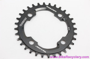 Blackspire Snaggletooth Narrow/Wide Chainring: 32t x 94mm - 1x 11s - Black (NEW)