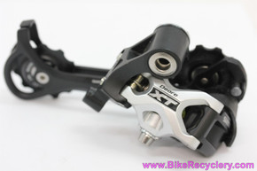 Shimano XT RD-M771 9 Speed Rear Derailleur: SGS Long Cage - Shadow (NEW)