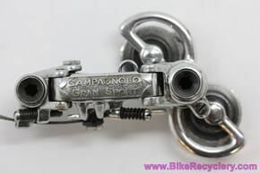 Campagnolo Gran Sport Rear Derailleur: Steel Plated Bronze - 1950's-1960's - 1012/4 (Near Mint)