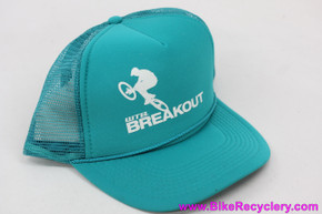 WTB Breakout Snapback Trucker Hat: Turquoise & White (NEW)