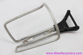 "T.A. ""Plum"" REF 417ab Alloy Water Bottle Cage: Grey/Black - 46g (EXC)"