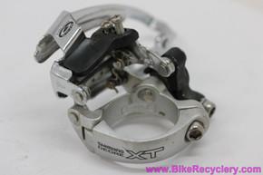Shimano XT FD-M750 Front Derailleur: 34.9mm - Top Swing & Pull