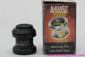 "Aheadset 1"" Threadless Headset: Black - Sealed - HS0118"