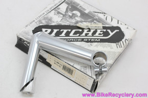 NIB/NOS Ritchey Force Nitto Quill Road Stem: 130mm x 26mm - 80/10 Drop - Silver