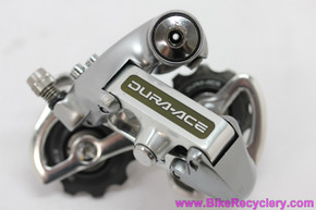 Shimano Dura Ace rd-7402 Rear Derailleur: 8sp (Near Mint+)