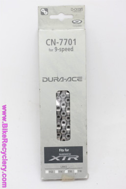 Shimano Dura Ace/ XTR 9-Speed Chain: CN-7701 - 116L