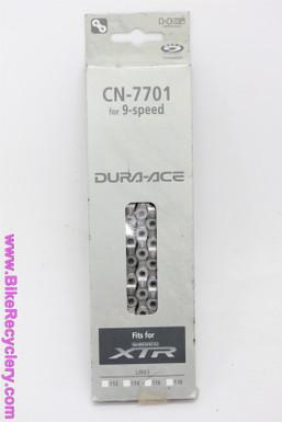 Shimano Dura Ace/ XTR 9-Speed Chain: CN-7701 - 116L
