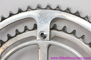 Specialties T.A. 6-Bolt Chainring Set On Ref 175 Adapter:  56t x 44t 6 bolt To Pro 5 Vis Adapter