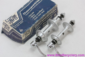 NIB/NOS Miche Competition Low Flange Hubset: Nuovo Record Clone - 36H x 126mm - Skewers