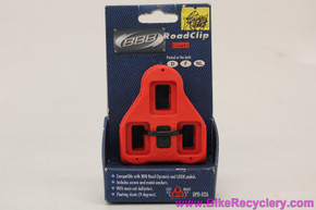 Look Delta Cleats: Red 5 Degree - BBB Brand (NEW)