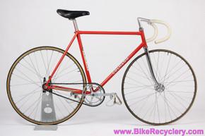 Colnago Super Pista Track Bike: 54.5cm -  Pantograph Campagnolo Record w/ Con Denti - Original Paint - Ambrosio Montreal - Vintage 1970's