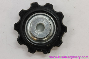 NOS Huret Jubilee / Simplex Jockey Wheel: Adjustable Bearing - 10t - Black