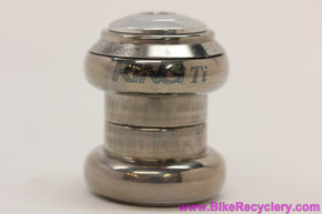 "Chris King Titanium 1"" NoThreadSet Threadless Headset: Silver Top Cap (Near Mint)"