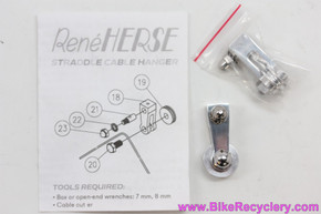Rene Herse Cantilever Brake Straddle Cable Carriers / Yokes: Pair (NEW)
