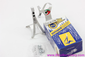 NIB/NOS Ale Art.97 Alloy Toe Clips: Medium - Silver