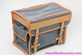 Gilles Berthoud GB805 Handlebar Bag w/ Klick-Fix Mount: Grey (NEW)