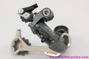 NOS Shimano XTR RD-M951 Rear Derailleur: Rapid Rise - SGS Long Cage - 9 Speed