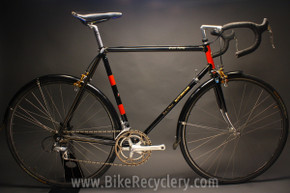 1979 Motobecane Grand Jubilee Touring Bike: 57cm, Fenders, Dura Ace / 600, Modolo Gold, Black/Red, Lugged Steel