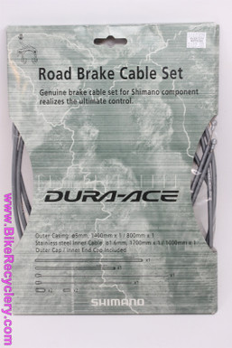 NIB/NOS Shimano Dura Ace Brake Cable Kit: Grey - BR-7700 - 9/10sp