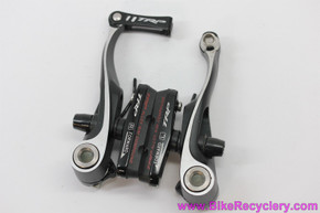 TRP CX8.4 Mini V Brake: Black - Linear Pull (New take-off)
