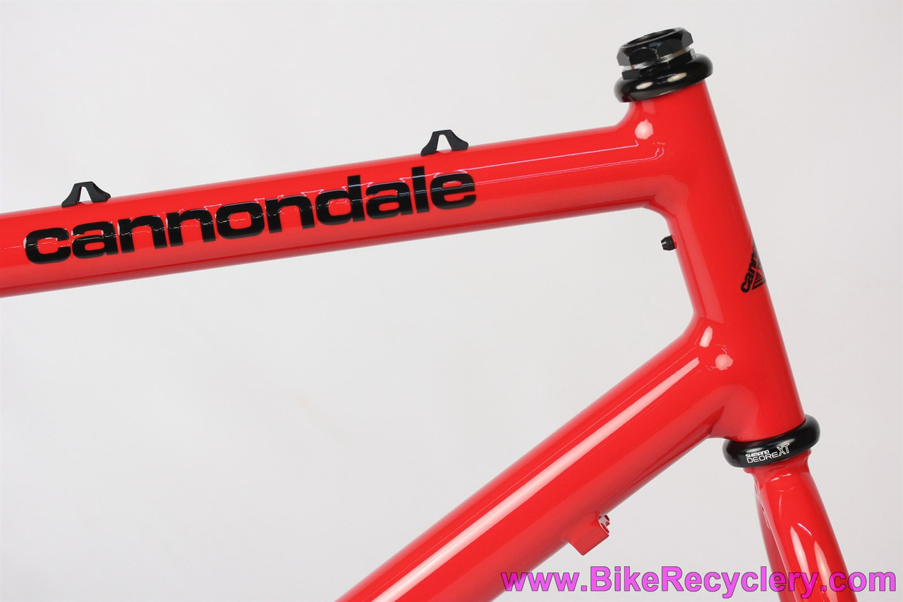 Vintage Cannondale 1989 Red Shred Decal Sticker