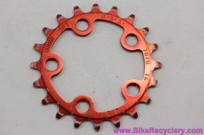 RED Anodized Granny Chainring: 20t x 58mm - Vintage 1990's (Near MINT)